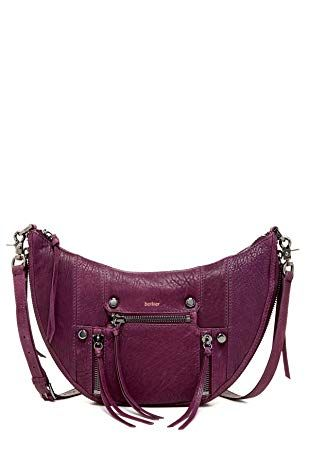 3873bf2bb77 Botkier Logan Small Hobo Leather Purple Review   Handbags and Wallets in  2018   Pinterest   Bags, Leather and Wallet