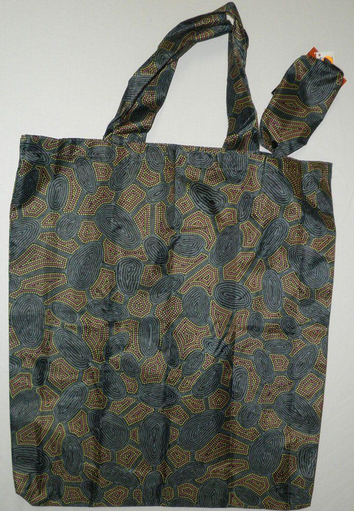 Aboriginal design Folding Bag various designs $9.00 SPECIAL - 3 for $25.00