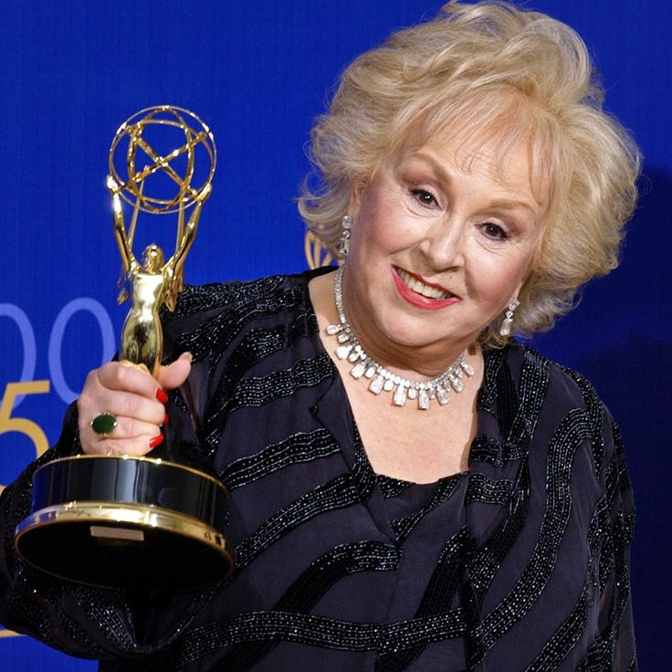 """Doris Roberts: Actress and author (Nov. 4, 1925–April 17, 2016) """"When I go, if there's a tombstone it will say, 'She doesn't give in. She doesn't give up. And she never takes no for an answer.'"""" —Doris Roberts"""