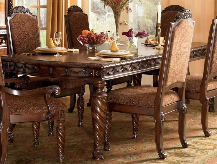 North Shore Rectangular Dining Room Set, Ashley Furniture, D553 35, Dining  Furniture