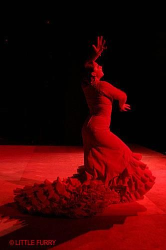 Платье фламенго