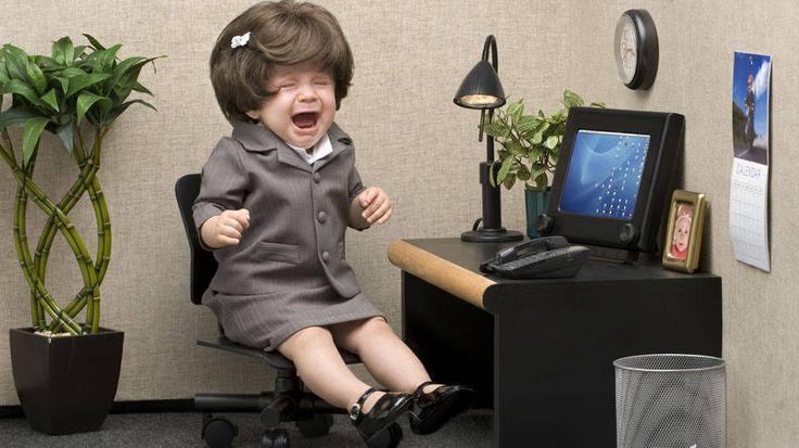 Pesquisa mostra que três a cada quatro profissionais já testemunharam comportamentos dignos de jardim da infância no escritório