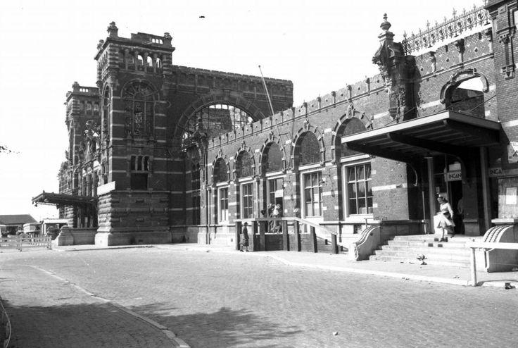 station na de oorlog-1945 tot 1953 zo gestaan