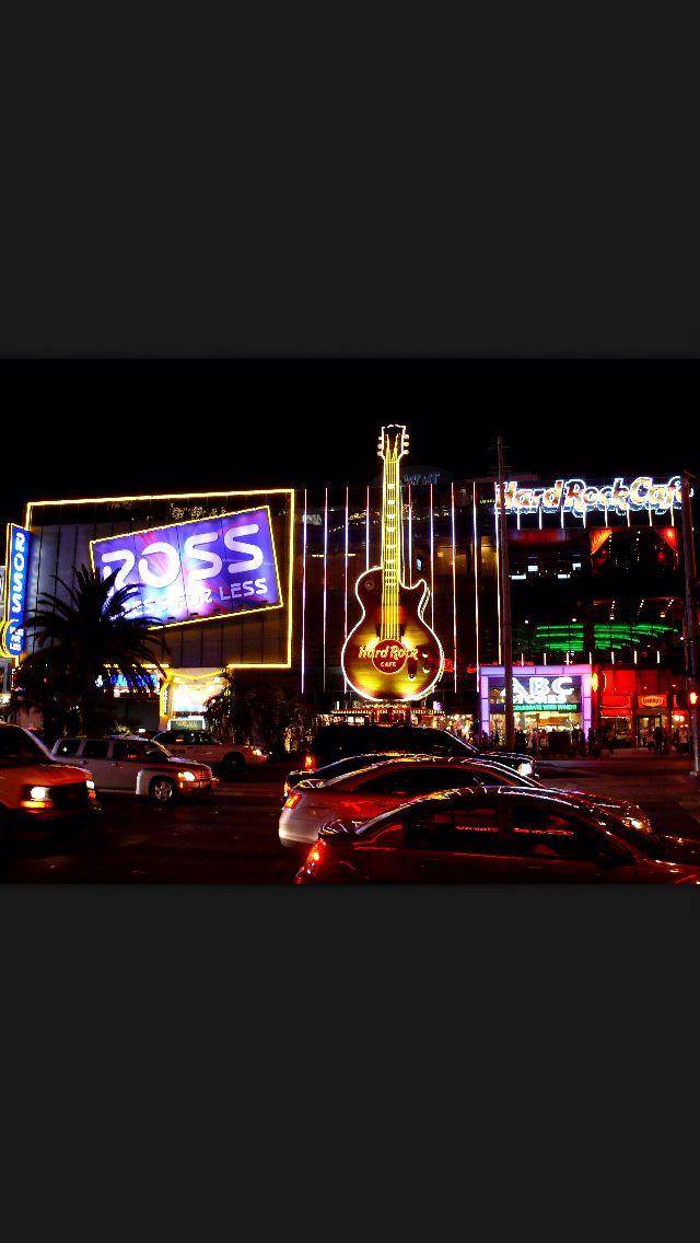 "Las Vegas. Good ""sex on the beach"" cocktail"