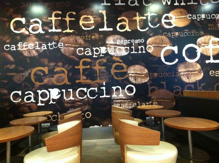 McCafe's wall