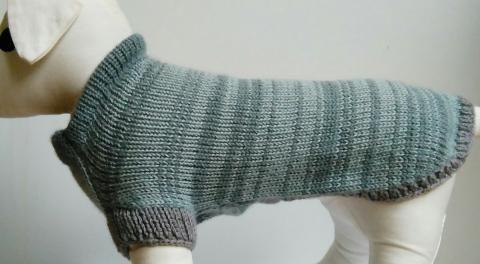 Kala sveter sivý Alpaka