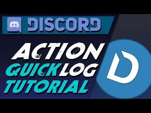 Discord Dyno bot action log quick tutorial, a | Gaming