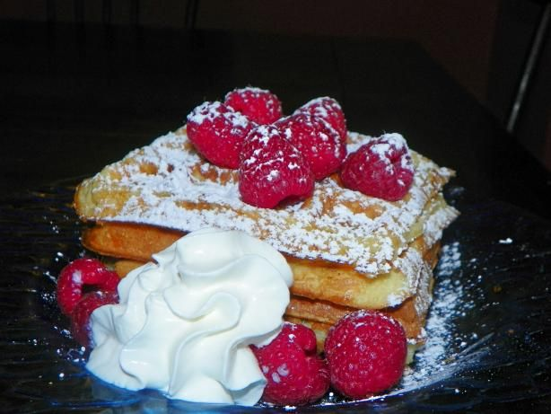 Sour Cream Waffles. Photo by Baby Kato