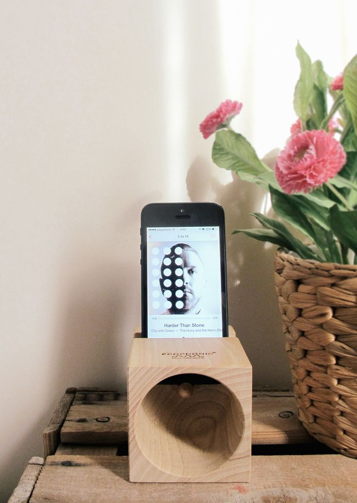 Amazing smartphone ecospeakers from www.ecophonic.com