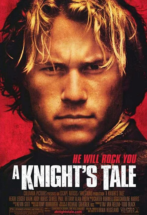 """This movie """"A Knights Tale"""" was the reason *Lord Rose* the Master of Rose and Thorn, went to his first Renaissance Fair when he was a boy (years ago.)"""