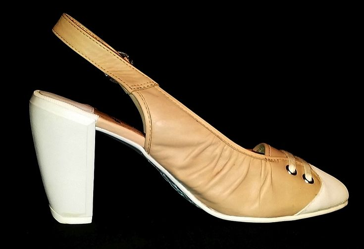 """BRONX So Today Women's Sling Back Pump Shoes (EUR 41).These adorable and extremely comfortable sling back heels are a must for fashionistas! They feature a PU leather upper and a non-skid rubber sole, with a sneaker-like lace detail at the front and a comfortable  3.54"""" rubber heel!  #nude #mauve #pastel #heels #pumps #fashion #girly #girlythings #girlystuff #cute #shoes #fashionist #fashionista #fashiontrend #chicstyle #women #pink"""