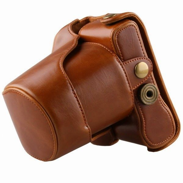 Lamo Lamo: Leather Case Cover Bag For FujiFilm Fuji X-M1 X-A1