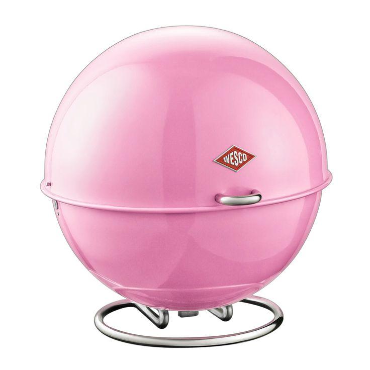 Wesco Superball Bread Bin - Pink