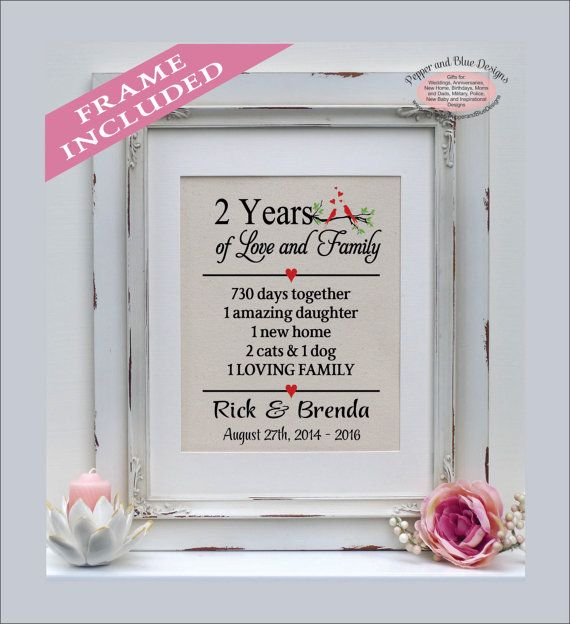 Two Year Wedding Anniversary Ideas: 1000+ Ideas About 2 Year Anniversary Gift On Pinterest