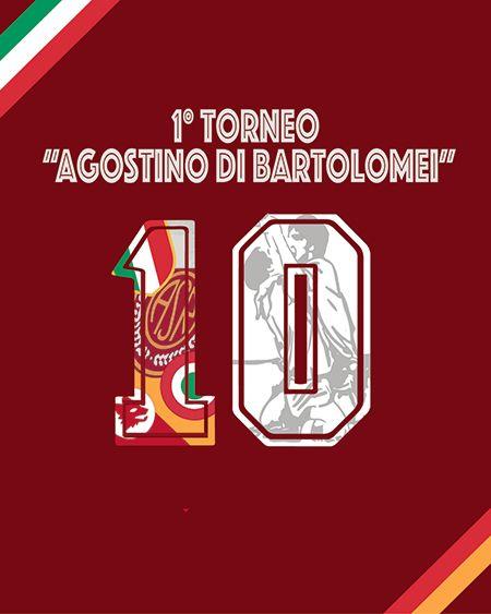 Svelato il logo vincente per il 1° torneo Agostino Di Bartolomei #ago #ASR #ASRoma #dibartolomei