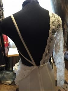 Свадебное платье... особенности конструирования и шитья. - Клуб Сезон