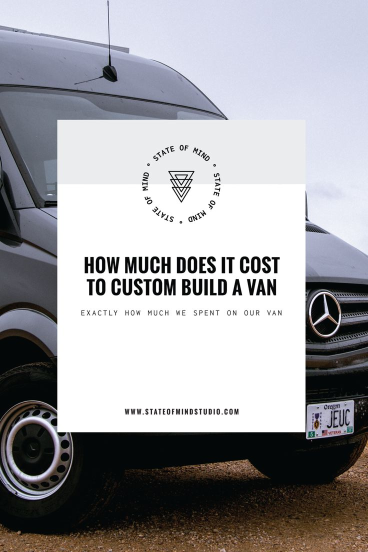 Want to know exactly how much it costs to build a sprinter van? We're sharing all of our costs on the blog today!
