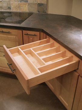 Cutlery Tray transitional-kitchen-drawer-organizers