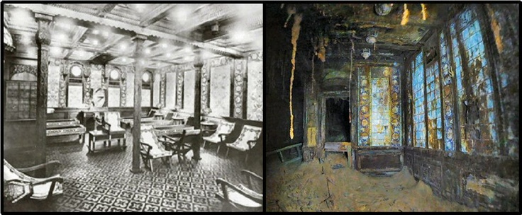 Rms Titanic Before And After Titanic History Titanic