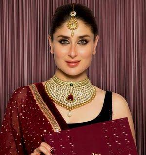 karina kapoor in indian bridal fashion jewelry style