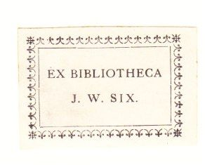 ancient Dutch exlibris