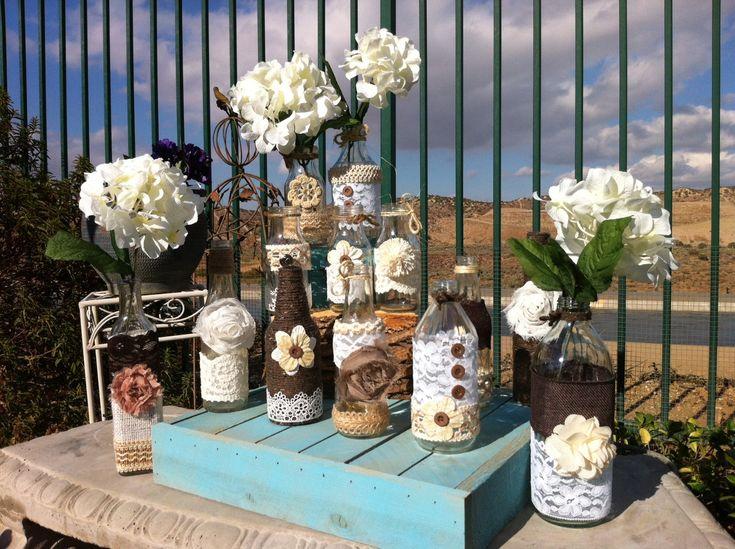 118 best wedding ideas images on pinterest table decorations decoration rustic wedding decor chic rustic wedding decor photograph vintage wedding vases junglespirit Images