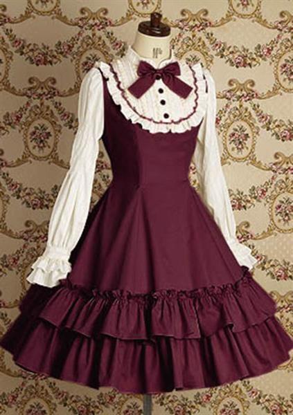 Как сделать платье лолиты