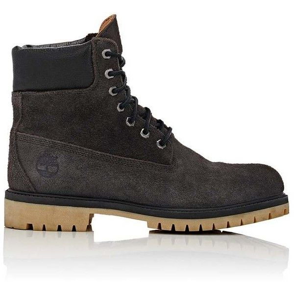 "Timberland Men's BNY Sole Series:""6-Inch\"" Boots ($129) ❤ liked on Polyvore featuring men's fashion, men's shoes, men's boots, men's work boots, black, mens black lace up boots, mens boots, mens lace up boots, mens lace up work boots and timberland mens boots"