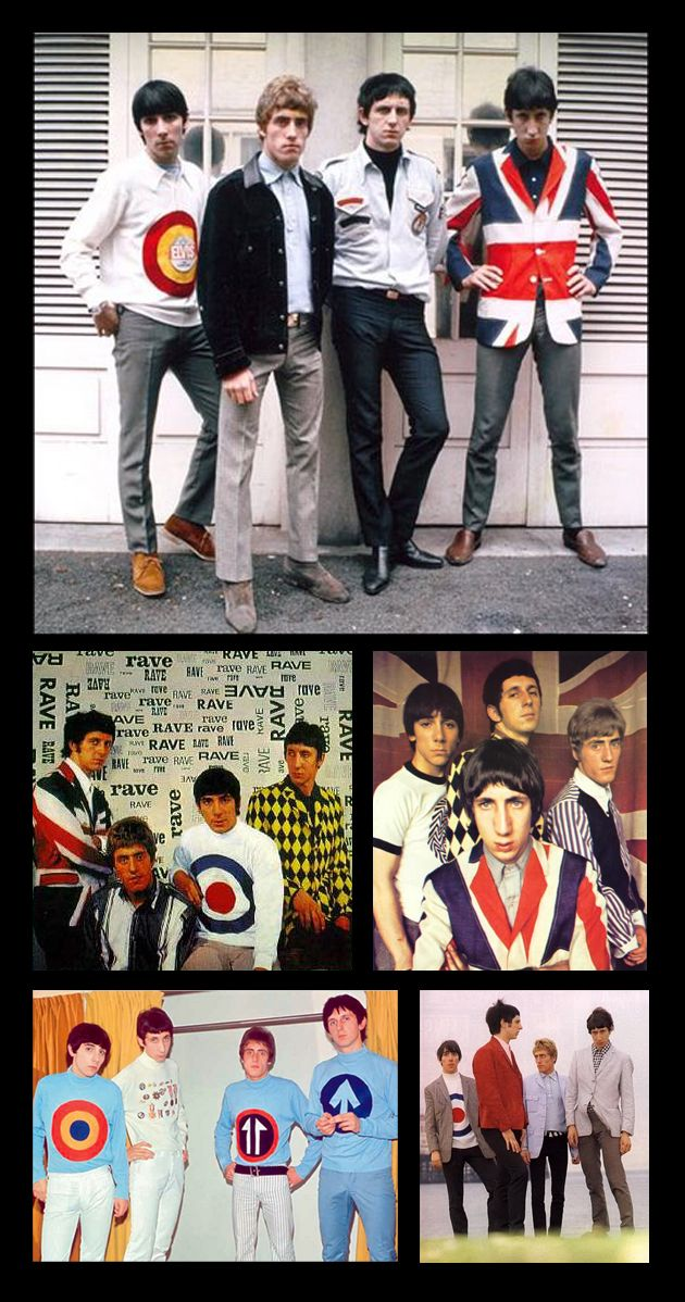The Who in 60s Mod livery!