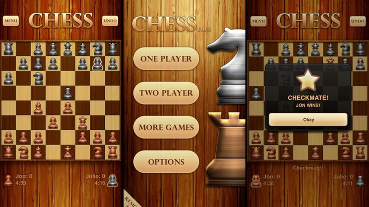 Are you tired of playing chess on an app that looks like it's from the stone ages? Click here to get the #1 chess app out there....