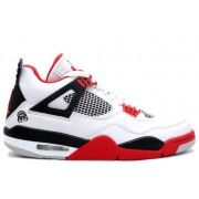 308497-162 Air Jordan 4 Mars White Fire Red Black A04009 Price:$104.99 http://www.theblueretro.com/