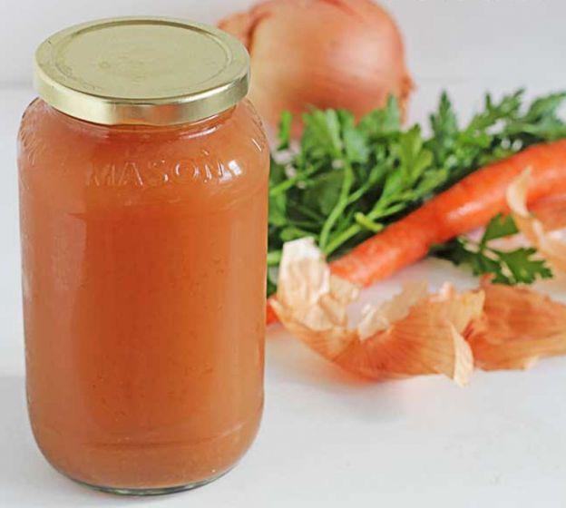 Recette facile de bouillon de légumes!