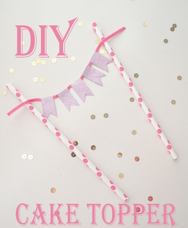 Sweetly Chic Events & Design DIY Cake Topper