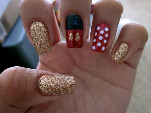disney nails | Tumblr