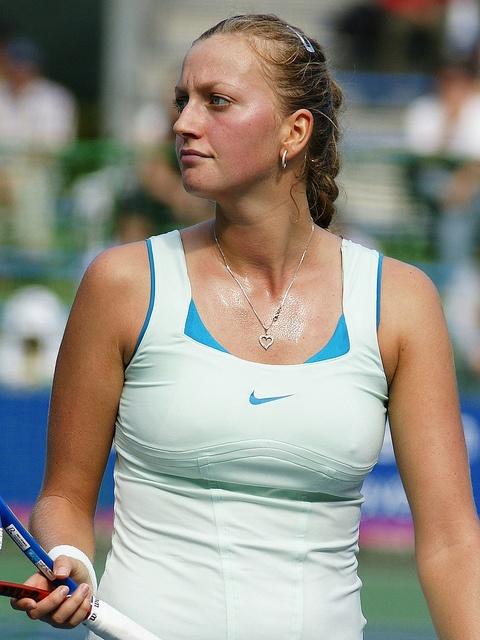 Petra Kvitova at 2010 Tokyo Toray Pan-Pacif Open against Alona Bondarenko. More pics at  http://www.flickr.com/photos/30387557@N07/sets/72157625132652908/