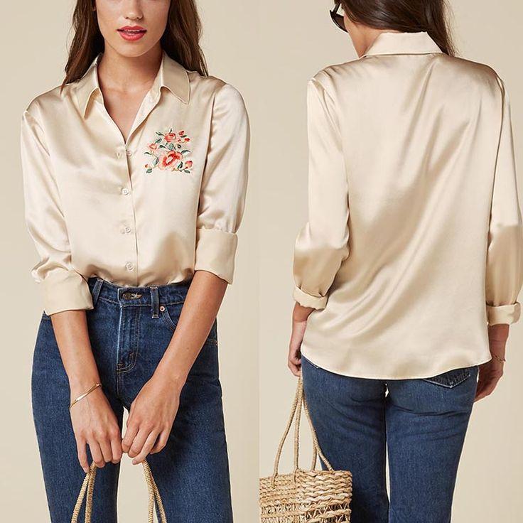 2017 diseño de moda de seda de manga larga bordado sexo señora women diario desgaste blusa-imagen-Tallas grandes de Camisas y Blusas-Identificación del producto:60530142139-spanish.alibaba.com