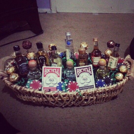 Welcome Home Basket A Cute Creative Gift For Him My Own
