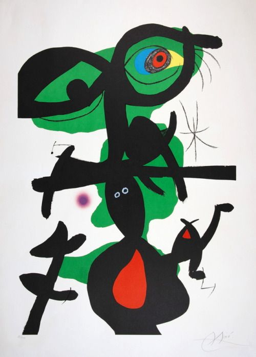 Joan Miró, 1973