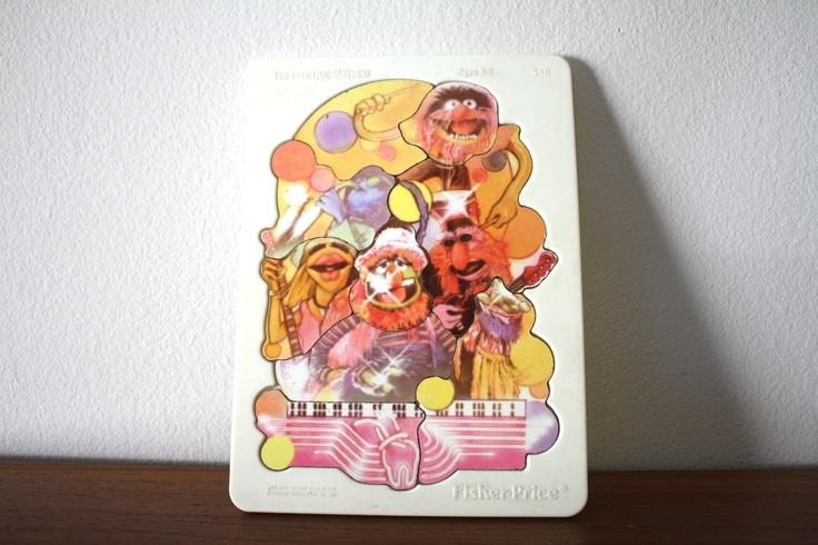 Fisher Price Animal Muppets Puzzle, Electric Mayhem Rock