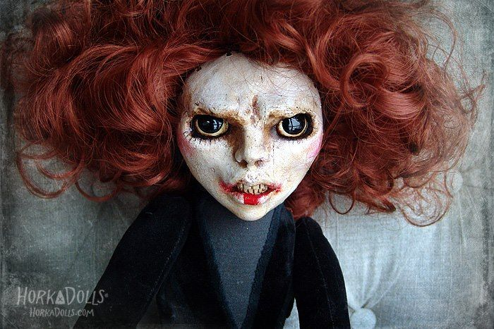 "HORKA DOLL                                                                            stepmother   ""Anneken""                                                                                                                                                                                                                  -----------           ------------horror doll -----------"