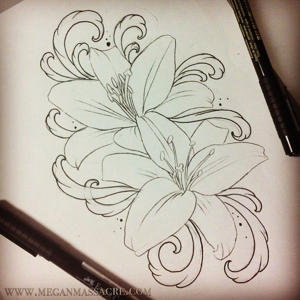 25 best ideas about lillies tattoo on pinterest lily for Lily rose designer