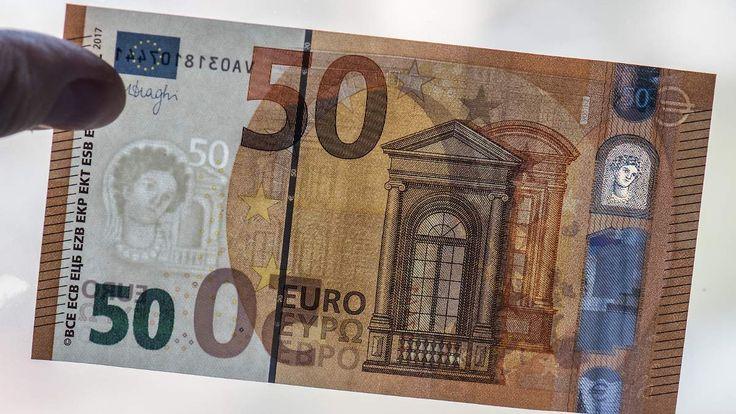 Schwergewicht des Bargeldes: Neuer 50-Euro-Schein kommt im April