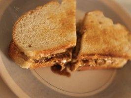 Banana Split Sandwich - Siba's Table - CookingChannelTV.com