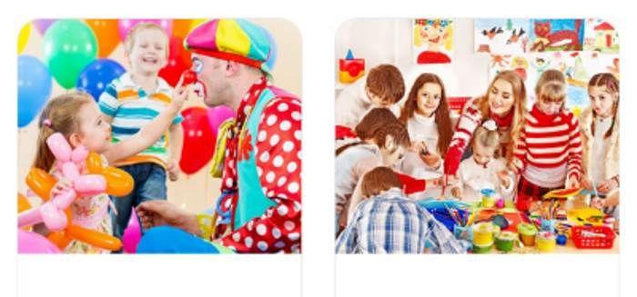 Организация праздников   детские праздники