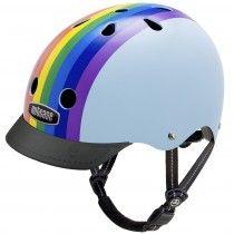 Nutcase Helmet - Street Rainbow Sky Gloss Generation 3 #EntropyWishList #PintoWin