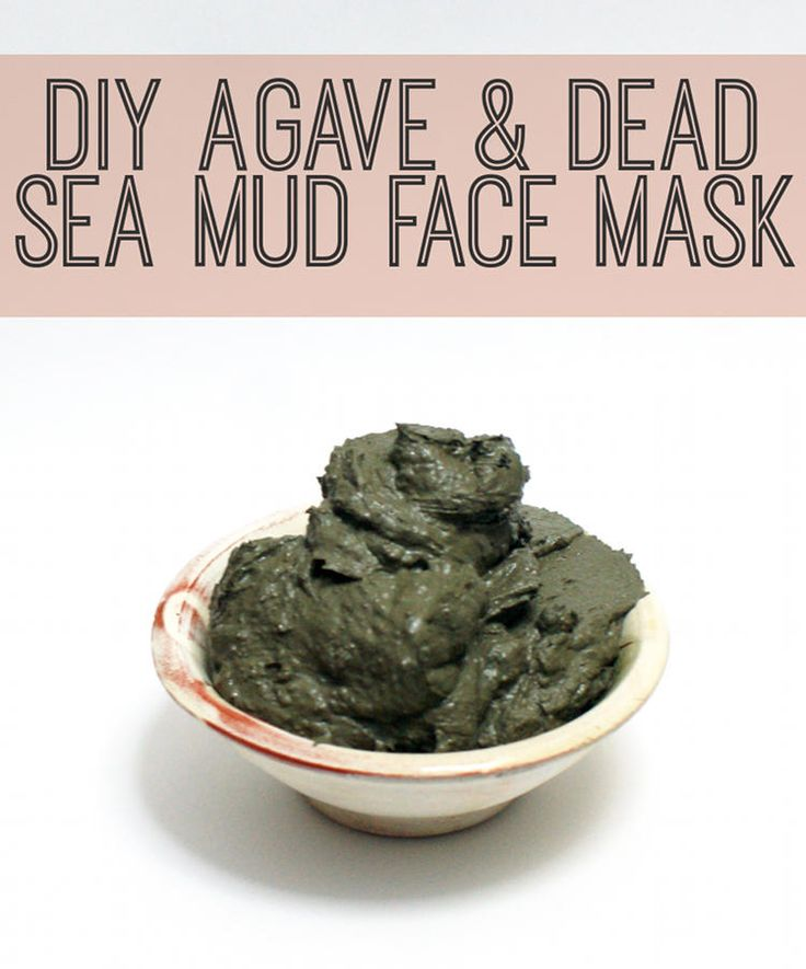 DIY Beauty Recipe - Natural Agave and Dead Sea Mud Detoxifying Face Mask Recipe