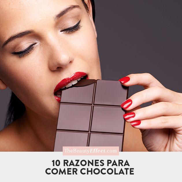 ¿Quién no ama el chocolate? si antes les gustaba ahora les gustará más gracias a sus beneficios. >>> http://bit.ly/2qIR2cs