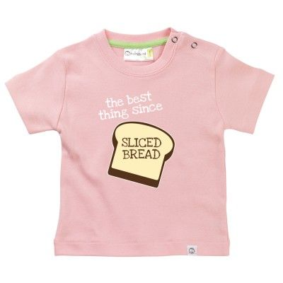 The Best Thing Since Sliced Bread  Baby T-Shirt by Hairy Baby