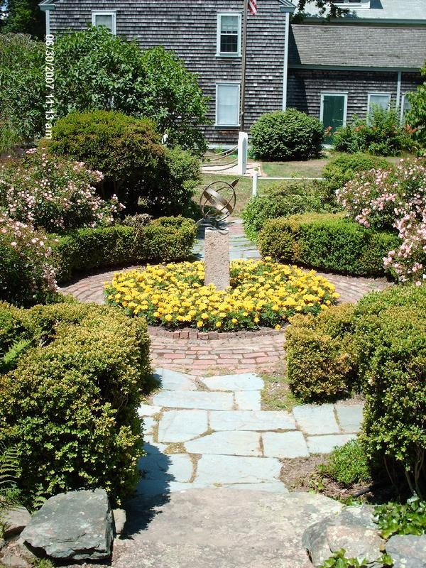 Colonial Garden At The Falmouth Historical Society