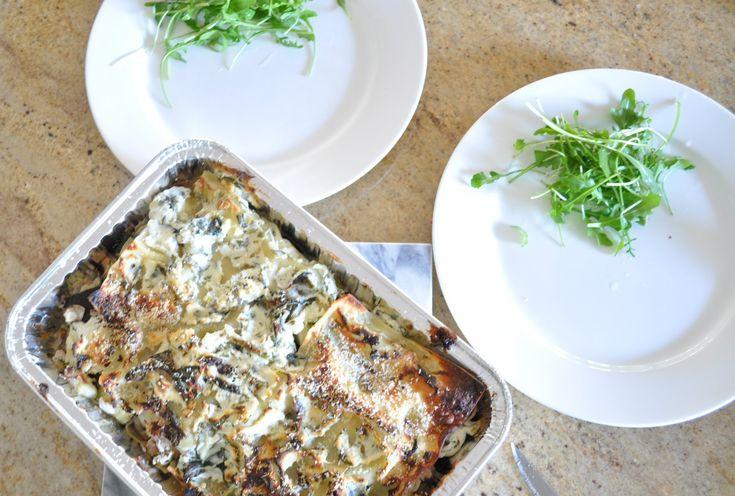 Ricotta and vegetable lasagna